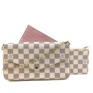 Louis Vuitton Pochette Felicie Cross Body Clutch